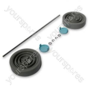 Dyson Assembly Kit  Grey/Blue Vacuum Wheel