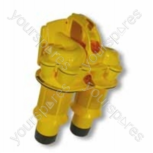 Cyclone Top Steel/yellow Dc11