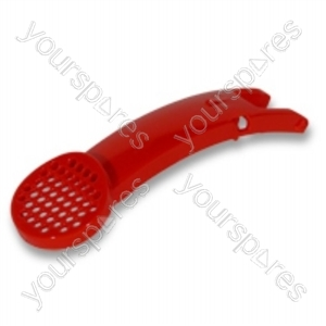 Wand Cap Assembly Scarlet