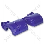 Motor Cover Lower Purple