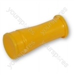 Dyson DC05 Silver/Yellow Yellow Rear Wheel Plug