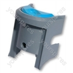 Dyson DC07 Switch Plate Silver/turquoise
