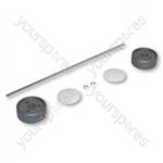 Dyson Assembly Kit Darkk/steel/white Vacuum Wheel