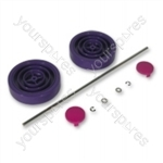 Dyson Assembly Kit Purple/Magenta Vacuum Wheel