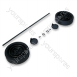 Dyson DC04SILVORA Assembly Kit Dark Steel Vacuum Wheel