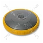 Dyson Steel/yellow Vacuum Wheel