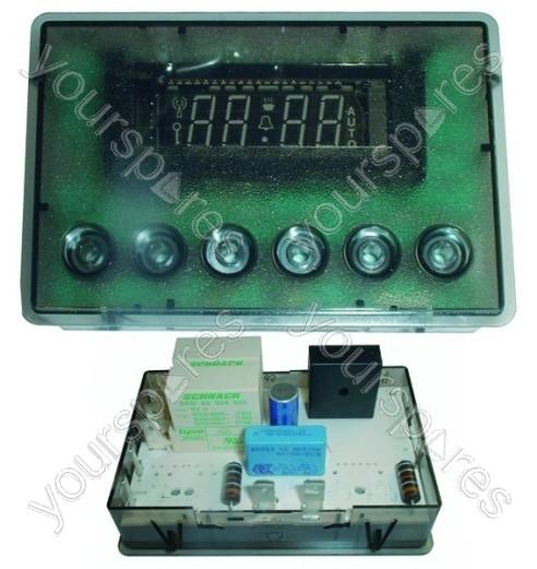 creda 48196 6 button double oven timer