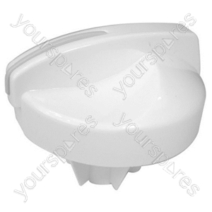 Indesit White Washing Machine Knob