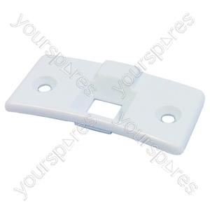 Indesit White Washing Machine Door Latch Cover