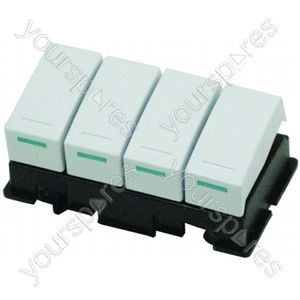 Hotpoint Washing Machine 4 Switch Bank