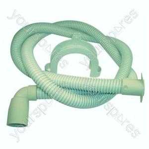 Indesit Dishwasher Long Drain Hose and Elbow - 1.9 Metre