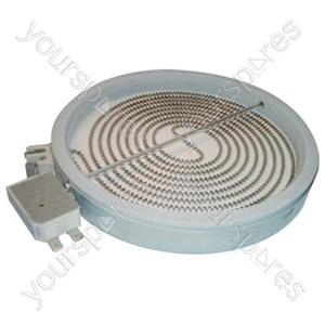 Indesit Solarglow 1800 Watt Ceramic Hob Element