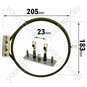 Indesit 2700 Watt Fan Oven Element