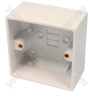 Pattress Box 1 Gang 46mm