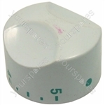 Thermostat Knob Giugiaro - White/blue