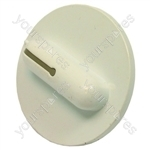 Indesit Washer Dryer White & Grey Timer Knob - L: 29 Mm