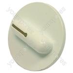 Indesit Washer Dryer White & Grey Timer Knob - L: 29 Mm