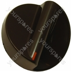 Indesit W822R Brown Timer Control Knob