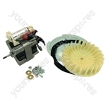 Hotpoint 9936P Dryer Fan and Motor Assembly