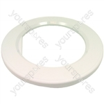 Hotpoint 9536 Door trim surround white (Remote type) laundry & t/d 9336 9335 9345 9385 9555 9546 9545 9585 9556 04-Z82] 56-S33 Spares