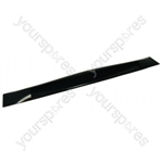 Indesit Black Oven Door Handle
