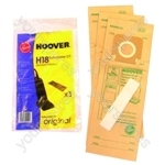 Hoover U2462 H18a Vacuum Cleaner Dust Bags X 3