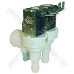 Hoover HW130MUK Washing Machine Cold Water Inlet Solenoid Double Valve