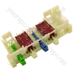 Hoover CE435-F Switch Bank Assembly