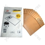 Karcher Paper Filter Bag (Pack of 10)
