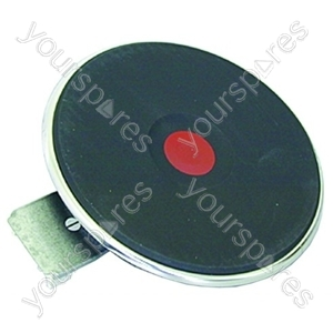 Hotplate Solid 145mm 4mm Red