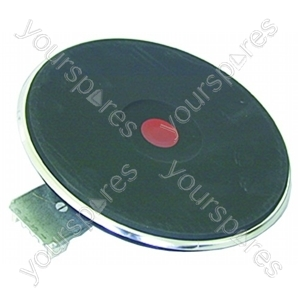 Hotplate Solid 2000w Red 4mm
