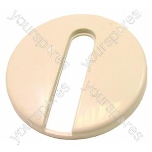 Servis White Washing Machine Timer Knob Cover