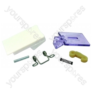 Servis White Tumble Dryer Door Handle Kit