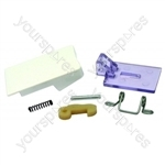Servis Washing Machine White Door Handle Kit