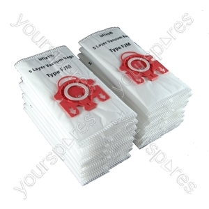 Miele Vacuum Cleaner Dust Bags Type FJM x 20 + Filters