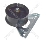Hotpoint IS61CSK Tumble Dryer Replacement Drive Belt Jockey Tension Pulley Wheel & Bracket