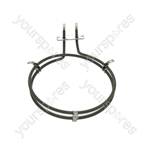 Miele Replacement Fan Oven Cooker Heating Element (2500w) (2 Turns)
