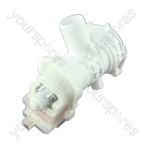 Hotpoint BHWM129UK Drain Pump 220-240v 50hz Askoll Flap