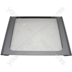Oven Door Glass Main Ultima Graphite