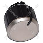 Hotpoint BS62N Control Knob Push-push (chrome)