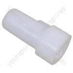 Indesit Fridge Freezer White 7 mm Hinge Bush